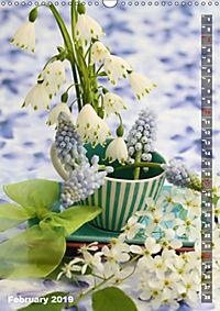 Bright Flower Bouquets (Wall Calendar 2019 DIN A3 Portrait) - Produktdetailbild 2