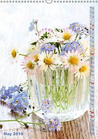 Bright Flower Bouquets (Wall Calendar 2019 DIN A3 Portrait) - Produktdetailbild 5