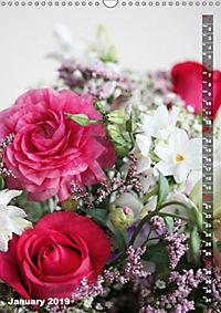 Bright Flower Bouquets (Wall Calendar 2019 DIN A3 Portrait) - Produktdetailbild 1
