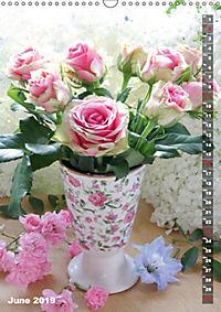 Bright Flower Bouquets (Wall Calendar 2019 DIN A3 Portrait) - Produktdetailbild 6