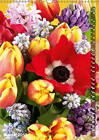 Bright Flower Bouquets (Wall Calendar 2019 DIN A3 Portrait) - Produktdetailbild 3