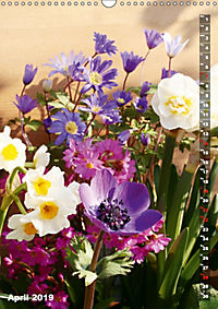 Bright Flower Bouquets (Wall Calendar 2019 DIN A3 Portrait) - Produktdetailbild 4