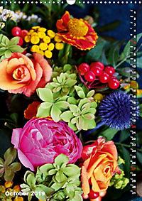 Bright Flower Bouquets (Wall Calendar 2019 DIN A3 Portrait) - Produktdetailbild 10