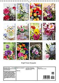 Bright Flower Bouquets (Wall Calendar 2019 DIN A3 Portrait) - Produktdetailbild 13
