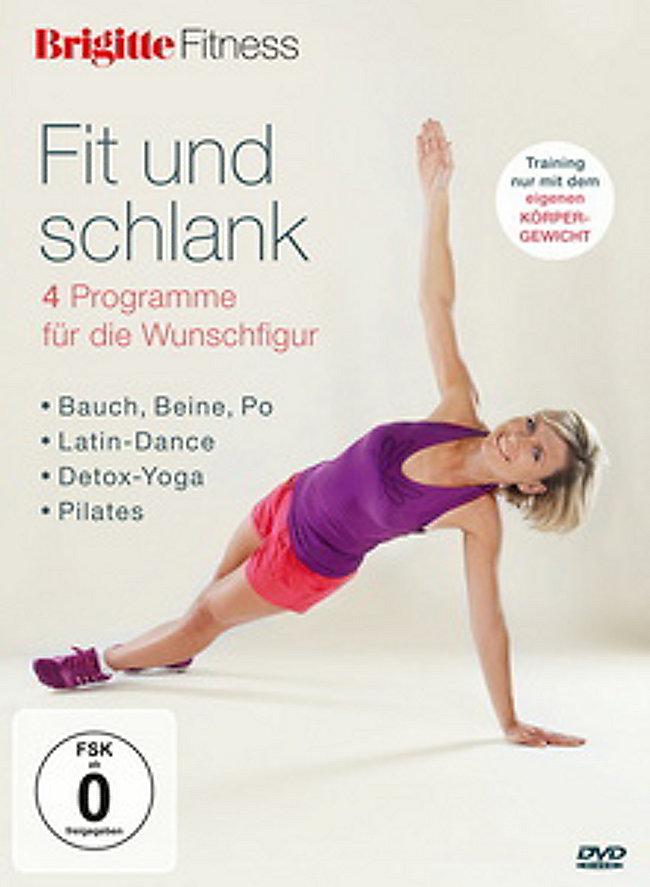 Brigitte Fitness Fit Und Schlank Ohne Geräte Dvd Weltbildch