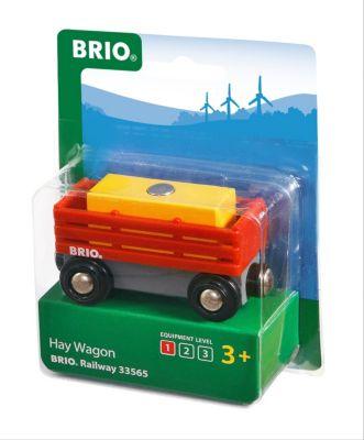 BRIO Heuwagen mit Heuballen 2-teilig