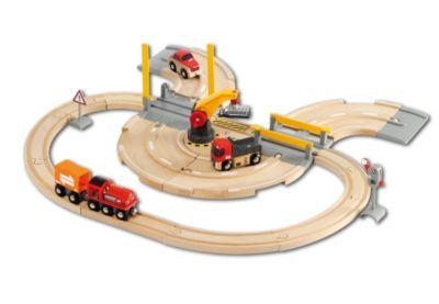 BRIO Straßen und Schienen Kran Set, BRIO®