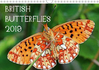 British Butterflies 2019 (Wall Calendar 2019 DIN A4 Landscape), Mark Pike