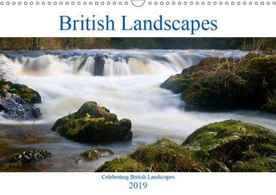 British Landscapes (Wall Calendar 2019 DIN A3 Landscape), Terry Hewlett