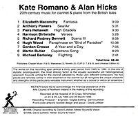 British Music For Clarinet & Piano - Produktdetailbild 1