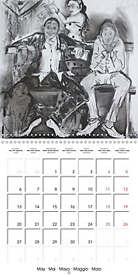 British Pubs, Beaches and Behind the Bike Sheds (Wall Calendar 2019 300 × 300 mm Square) - Produktdetailbild 5