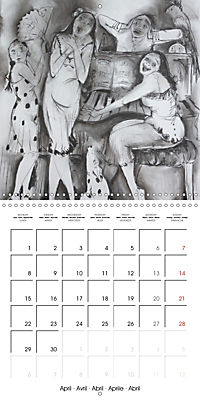 British Pubs, Beaches and Behind the Bike Sheds (Wall Calendar 2019 300 × 300 mm Square) - Produktdetailbild 4