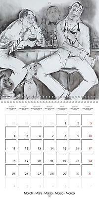 British Pubs, Beaches and Behind the Bike Sheds (Wall Calendar 2019 300 × 300 mm Square) - Produktdetailbild 3