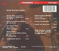 British Wind Band Classics (Holst/Vaughan Williams) - Produktdetailbild 1