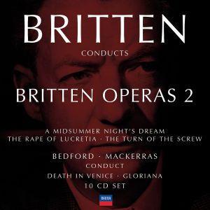 Britten conducts Britten: Opera Vol.2, Britten, Bedford, Mackerras
