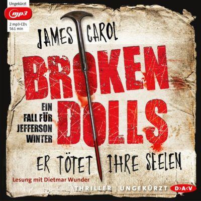Broken Dolls, 2 MP3-CDs, James Carol