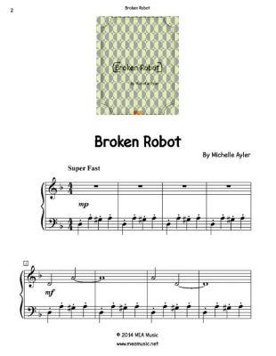 Broken Robot, Michelle Ayler