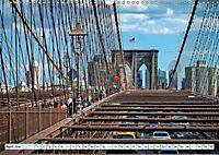 Brooklyn Bridge - Brücke in eine neue Welt (Wandkalender 2019 DIN A3 quer) - Produktdetailbild 4