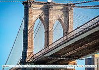 Brooklyn Bridge - Brücke in eine neue Welt (Wandkalender 2019 DIN A3 quer) - Produktdetailbild 5