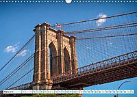 Brooklyn Bridge - Brücke in eine neue Welt (Wandkalender 2019 DIN A3 quer) - Produktdetailbild 3