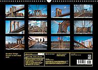 Brooklyn Bridge - Brücke in eine neue Welt (Wandkalender 2019 DIN A3 quer) - Produktdetailbild 13