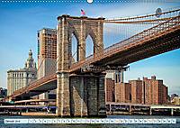 Brooklyn Bridge - Brücke in eine neue Welt (Wandkalender 2019 DIN A2 quer) - Produktdetailbild 1