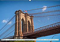 Brooklyn Bridge - Brücke in eine neue Welt (Wandkalender 2019 DIN A2 quer) - Produktdetailbild 3