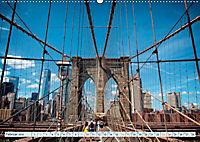 Brooklyn Bridge - Brücke in eine neue Welt (Wandkalender 2019 DIN A2 quer) - Produktdetailbild 2