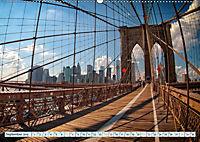 Brooklyn Bridge - Brücke in eine neue Welt (Wandkalender 2019 DIN A2 quer) - Produktdetailbild 9