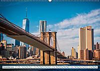 Brooklyn Bridge - Brücke in eine neue Welt (Wandkalender 2019 DIN A2 quer) - Produktdetailbild 12