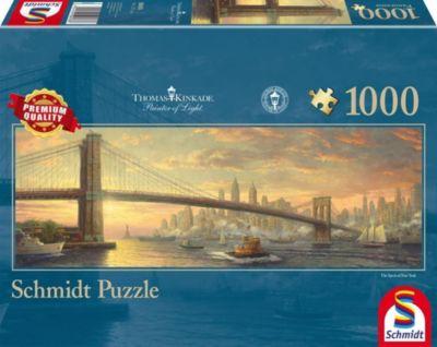 Brooklyn Bridge, New York (Puzzle), Thomas Kinkade