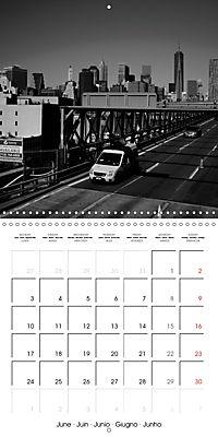 Brooklyn Bridge New York (Wall Calendar 2019 300 × 300 mm Square) - Produktdetailbild 6