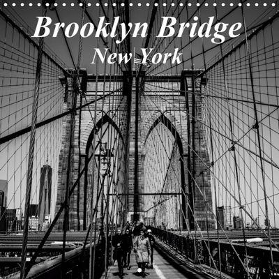 Brooklyn Bridge New York (Wall Calendar 2019 300 × 300 mm Square), Gardia Photography