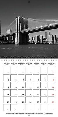 Brooklyn Bridge New York (Wall Calendar 2019 300 × 300 mm Square) - Produktdetailbild 12