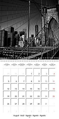 Brooklyn Bridge New York (Wall Calendar 2019 300 × 300 mm Square) - Produktdetailbild 8