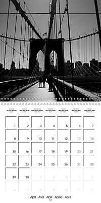 Brooklyn Bridge New York (Wall Calendar 2019 300 × 300 mm Square) - Produktdetailbild 4