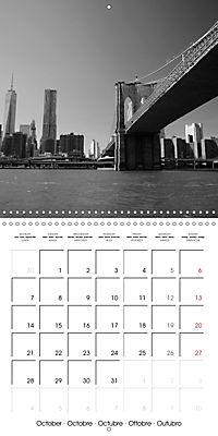 Brooklyn Bridge New York (Wall Calendar 2019 300 × 300 mm Square) - Produktdetailbild 10