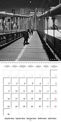 Brooklyn Bridge New York (Wall Calendar 2019 300 × 300 mm Square) - Produktdetailbild 9