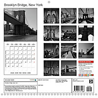 Brooklyn Bridge New York (Wall Calendar 2019 300 × 300 mm Square) - Produktdetailbild 13