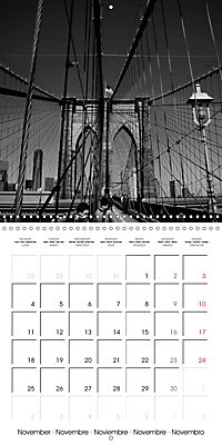 Brooklyn Bridge New York (Wall Calendar 2019 300 × 300 mm Square) - Produktdetailbild 11