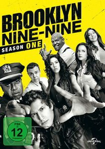 Brooklyn Nine-Nine - Staffel 1, Andre Braugher,Stephanie Beatriz Andy Samberg