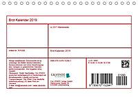 Brot Kalender 2019 (Tischkalender 2019 DIN A5 quer) - Produktdetailbild 13