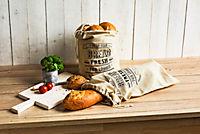 Brotbeutel aus Leinen, 2er Set - Produktdetailbild 1