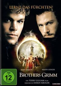 Brothers Grimm, Heath Ledger, Matt Damon