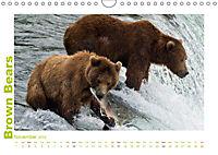 Brown Bears 2019 UK-Version (Wall Calendar 2019 DIN A4 Landscape) - Produktdetailbild 11