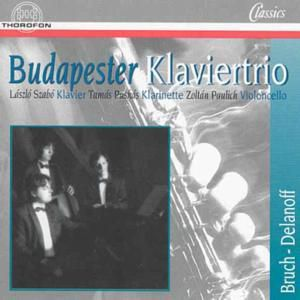 Bruch,max/delanoff,robert, Budapester Klaviertrio
