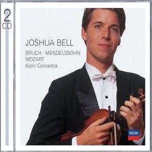 Bruch, Mendelssohn, Mozart Violin Concertos, Joshua Bell, Marriner, Maag, Amf, Eco