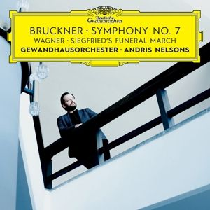 Bruckner: Symphony No. 7 / Wagner: Siegfried's Funeral March, Andris Nelsons, Gewandhausorchester