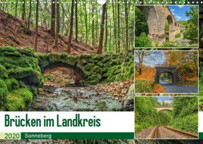 Brücken des Landkreises Sonneberg Wandkalender 2020 DIN A3