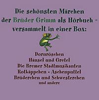 Brüder Grimm - Die Märchen Box, 5 Audio-CDs - Produktdetailbild 1